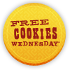 Free Cookies Wednesday